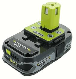 Ryobi P107 One+ 18 Volt Compact Lithium Ion 1.5 Ah Battery
