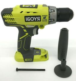 "Ryobi P214 18V Li-Ion 1/2"" Cordless Hammer Drill BARE TOOL N"