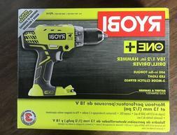 Ryobi P214 ONE+ 18-Volt LI-ION 1/2 in. Cordless Hammer Drill