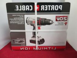PORTER-CABLE PCC621LB 20V Max Compact Hammer Drill Kit