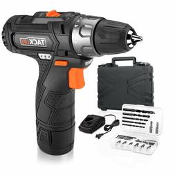 Tacklife PCD02B 12V Lithium-Ion Cordless Drill/Driver 3/8-In