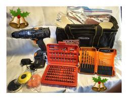 """Tacklife 3/8"""" Cordless Drill Driver 20V MAX Lithium-Ion 324"""
