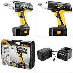 portable cordless impact wrench kit drill gun