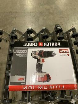 Porter-Cable 20V MAX Li-Ion Hammer Drill Kit PCC620LB  Brand