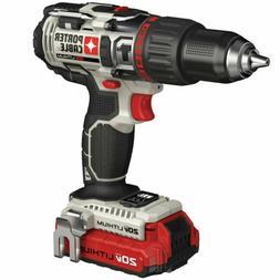 "Porter Cable PCC620LB 20V MAX Li-Ion 1/2"" Hammer Drill Kit N"