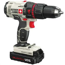 New Porter cable PCC621 20V Compact Hammer Drill Driver 1/2-