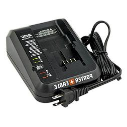 New Porter Cable PCC691L 20V Li-ion Battery Charger LED indi