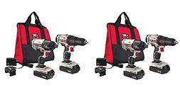 PORTER CABLE PCCK604L2 20V MAX 2-Tool Cordless Drill/Driver