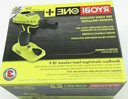 Ryobi 18v High Power Cordless Volume Inflator Battery Operat