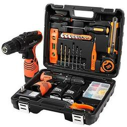 LETTON Power Tools Combo Kit with 16.8V Cordless Power Drill