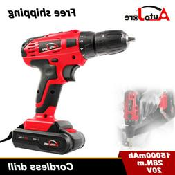 Powerful Cordless Drill Driver  Electric Driver Set Tool Rep