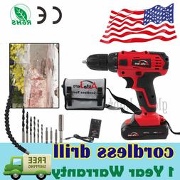 powerful cordless drill driver electric driver set