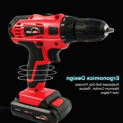 Powerful Cordless Drill Driver Electric li-ion Drill Tool Re