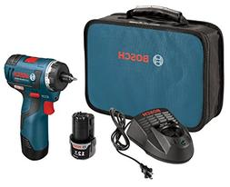 "Bosch PS22-02 12-Volt 1/4"" 2.0Ah Max Brushless Cordless Pock"