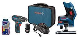 Bosch PS31-2A 12V Max 3/8-In 2-Speed Drill/Driver Kit,  12V