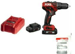SKIL PWRCore 12v Brushless DRILL DRIVER w/ TWO Batteries, Ch