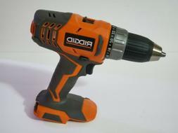 "RIDGID R860052 18V 18 Volt 1/2"" Cordless Drill Driver Lith"