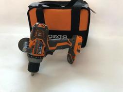 RIDGID R86008B 18 Volt Cordless Compact Drill  Looks New