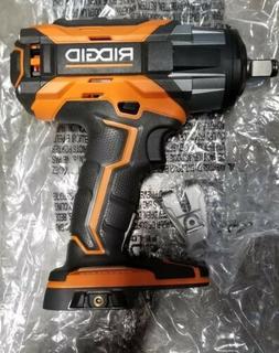 "RIDGID R86011B 18v 1/2"" Cordless Impact Wrench Brushless 4-M"