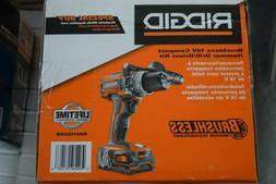 Ridgid R86116K 18 Volt Lithium Ion Half inch Cordless Compac