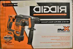 "Ridgid R86710B 18V Cordless 7/8"" SDS-Plus Rotary Hammer Dril"