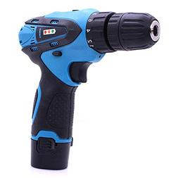 KKmoon Rechargeable Electric Drill Cordless Screwdriver Set