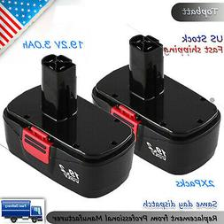 2X Replace for 19.2 Volt Craftsman Battery C3 DieHard 315.11