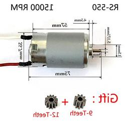 Motor RS-550VC DC10.8V 15000rpm Replacement for BOSCH MAKITA