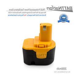 2AH battery for Ryobi 12V 1400652 1400652B 1400670 Ryobi 12