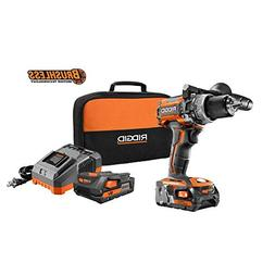 RIGID 18-Volt Lithium-Ion 1/2 in. Cordless Brushless Compact