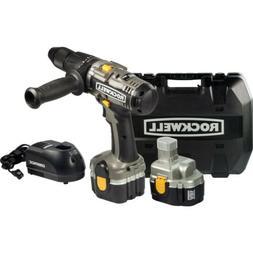 Rockwell RK2808K2 Compack Pro 18 Volt Cordless Hammer Drill