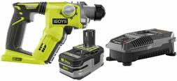 Rotary Hammer Drill Kit W/ Battery and Charger Lithium Ion C