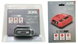 SEALED! Skil PWRCore 12 Volt Battery and Charger Combo Brand