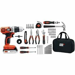 Tool Set Home Improvement Cordless Drill 66 Pieces Complete