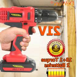 "Spare Battery Cordless Electric Drill Screwdriver 1/2"" Sq Dr"