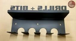 Wall Mount Drill Tools Bits V2 Holder Rack Storage DeWalt M