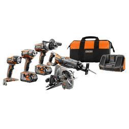 RIDGID TOOL COMPANY R9652 18V Tool GEN5X Combo Kit  BRAND NE