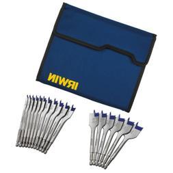 Irwin Tools 1792761 Speedbor Blue-Groove Pro Spade Bit Set w