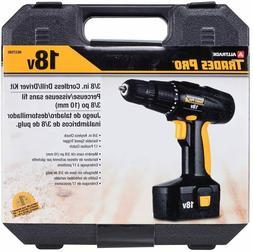 Tradespro 3/8 18V Cordless Drill Kit - 837590