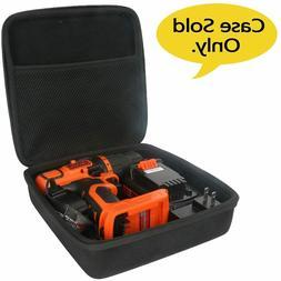 Travel Hard Case for BLACK+DECKER LDX120C 20-Volt MAX Lithiu