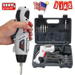 US 4.8V Mini Cordless Drill Screwdriver set with Lithium-ion