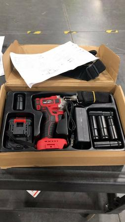 USED 90% new Cordless Impact Wrench Drill electric brushless