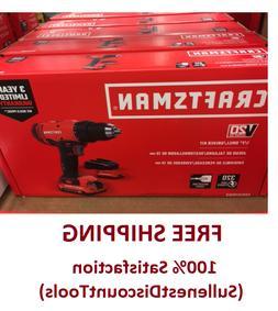 CRAFTSMAN V20 20-Volt Max 1/2-in Cordless Drill Driver