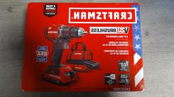 CRAFTSMAN V20 20-Volt Max Lithium Ion  1/2-in Brushless Dril