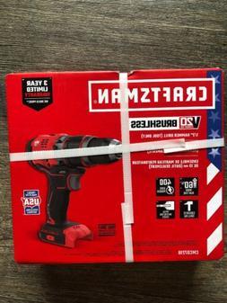 "Craftsman V20 Lithium Ion Brushless 1/2"" Hammer Drill  CMCD7"