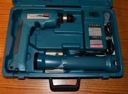 """Vintage MAKITA 6095D 9.6V 3/8"""" Cordless Drill/Driver Flashli"""
