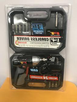 """Performance Tool W50033 1/4"""" 3.6V Li-ion QR Chuck"""