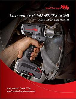 Ingersoll Rand W5130-K1 3/8 Drive Iqv20 Cordless Impact Wren