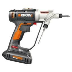WORX WX176L.5 Switchdriver 20V PowerShare Cordless Drill & D