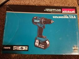 "MAKITA XFD06Z 18V 18 Volt Lithium Ion Brushless 1/2"" Drill D"